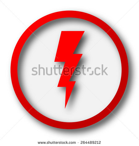 450x470 Lightening Clipart Red Lightning