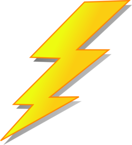 Lightning bolt clear background. Cliparts free download best