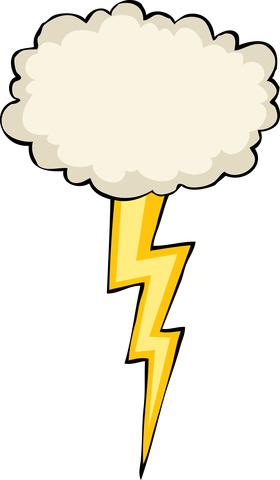 280x480 Zeus Clipart Lightning Bolt
