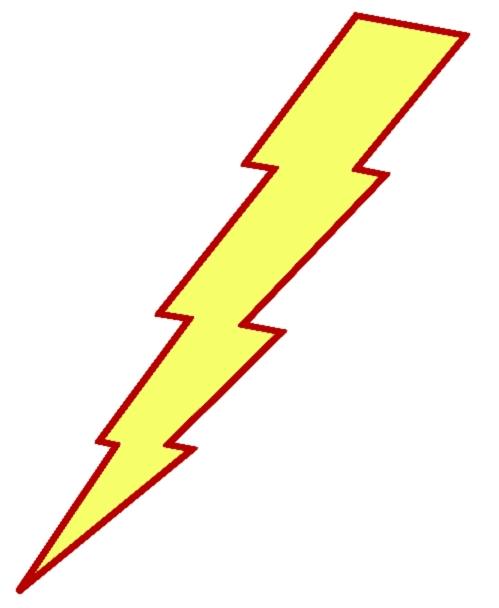 499x608 Lightning Bolt Free Lightning Clipart Public Domain Lightning Clip