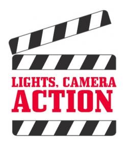 249x300 Lights Camera Action Clip Art