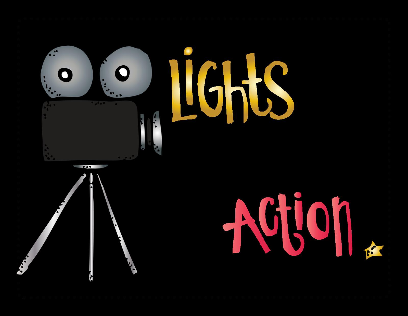 1600x1238 Lights Camera Action Clip Art Chadholtz
