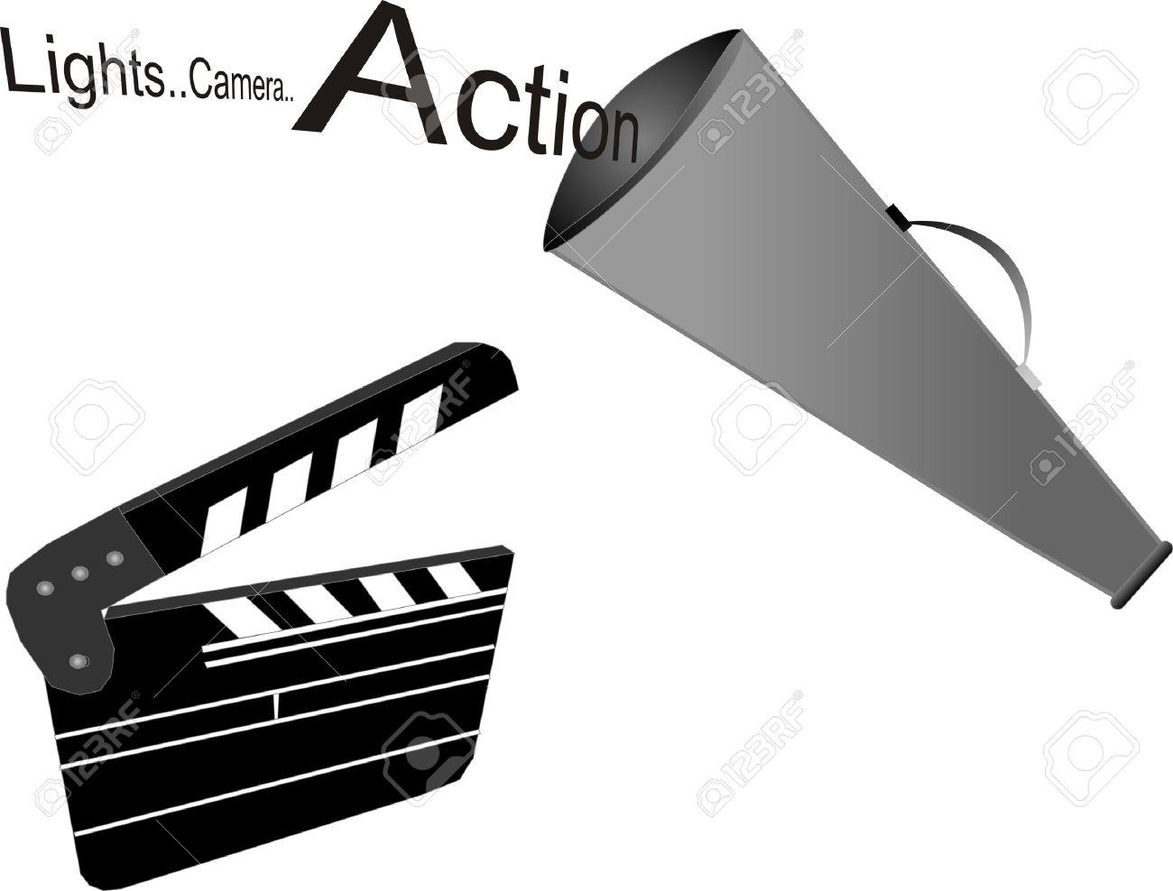 1300x988 Lights Clipart Movie Set