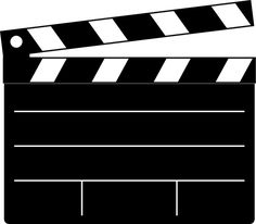 236x206 Hollywood Clip Art Lights Camera Action (Hollywood) Clip Art