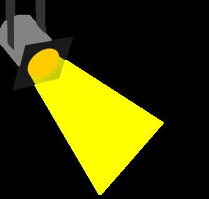 300x285 Spot Light Clip Art