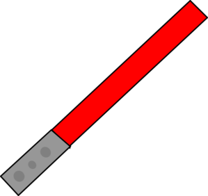 299x282 Red Saber Clip Art