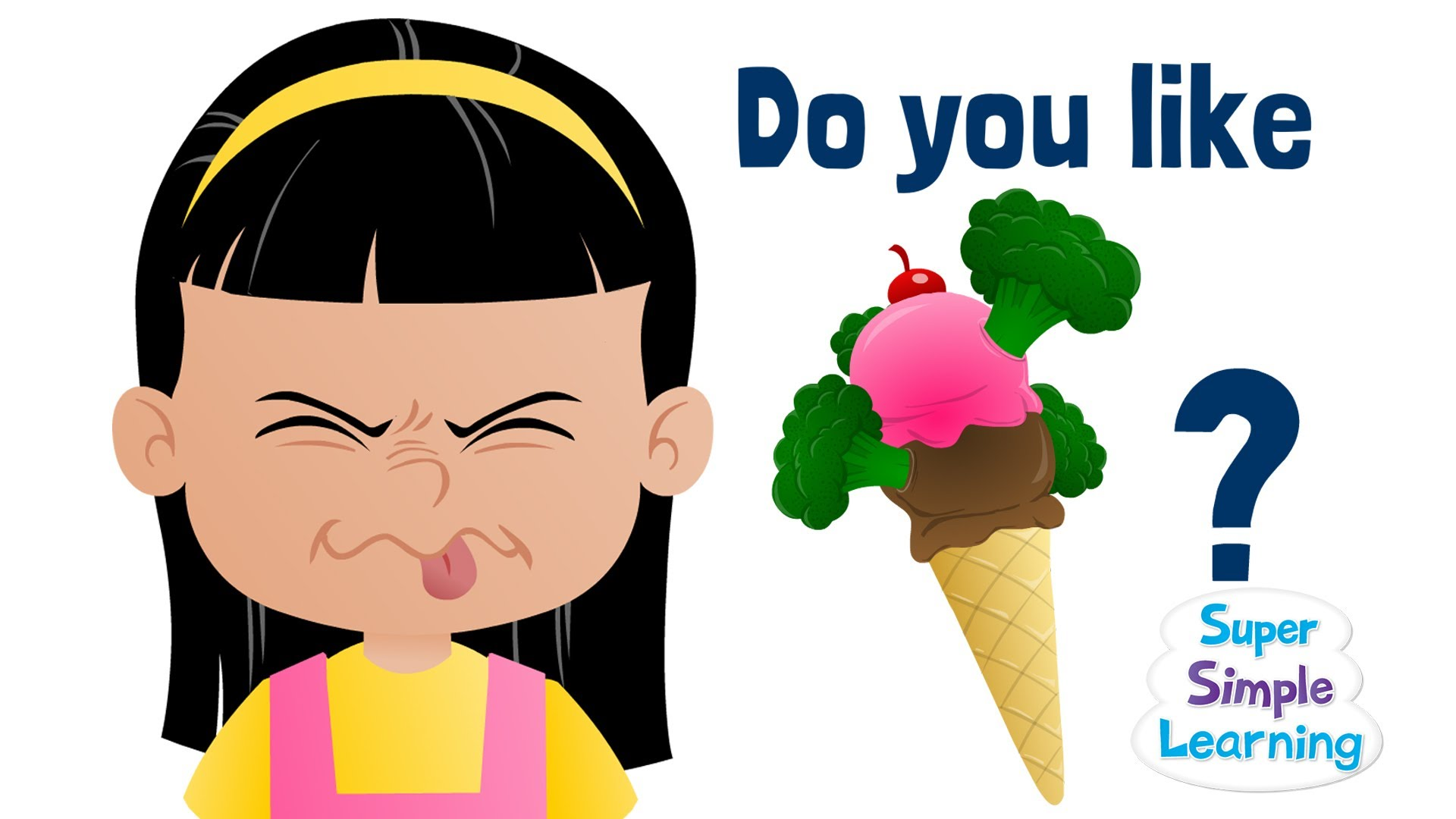 1920x1080 Do You Like Broccoli Ice Cream Super Simple Songs