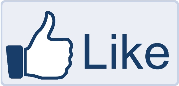 580x281 Facebook Like Button Big Free Images