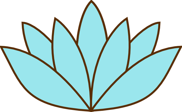 600x371 Lily Pad Flower Clipart