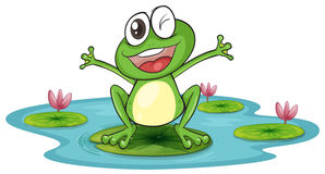 298x160 Lily Pad Clipart Baby Frog