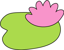 271x210 Lily Pad Clipart Template