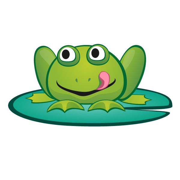 600x600 Frog On Lily Pad Png Transparent Frog On Lily Pad.png Images