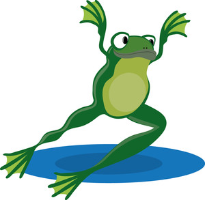 300x293 Frog Clipart Image