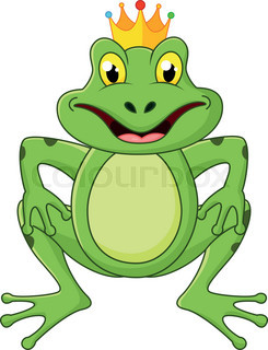 245x320 Happy Frog Prince On A Lily Pad Stock Vector Colourbox