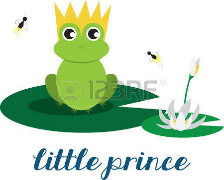 450x363 164 Frog On Lily Pad Stock Vector Illustration And Royalty Free