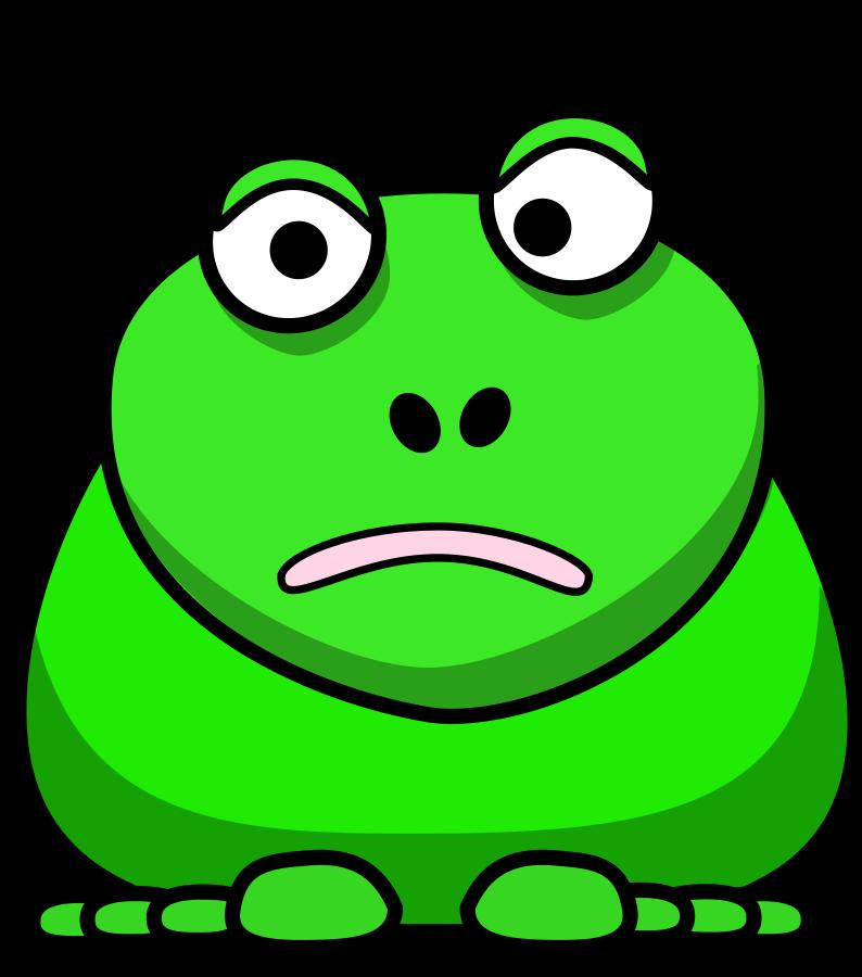794x900 Cartoon Frog Clip Art Image 8