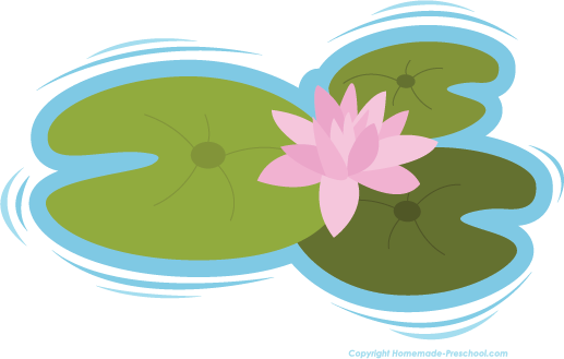 517x329 Free Clipart Frog On Lily Pad