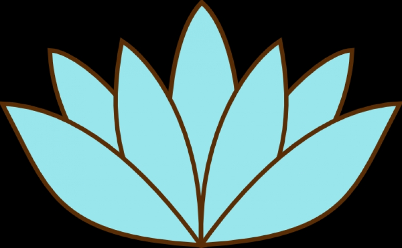 820x507 Lily Pad Flower Clipart 2 Image 26863
