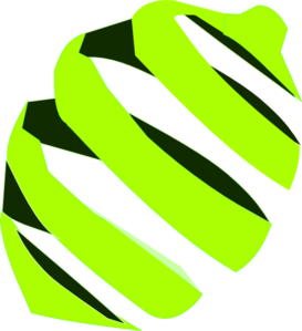 273x299 Abstract Lime Clip Art