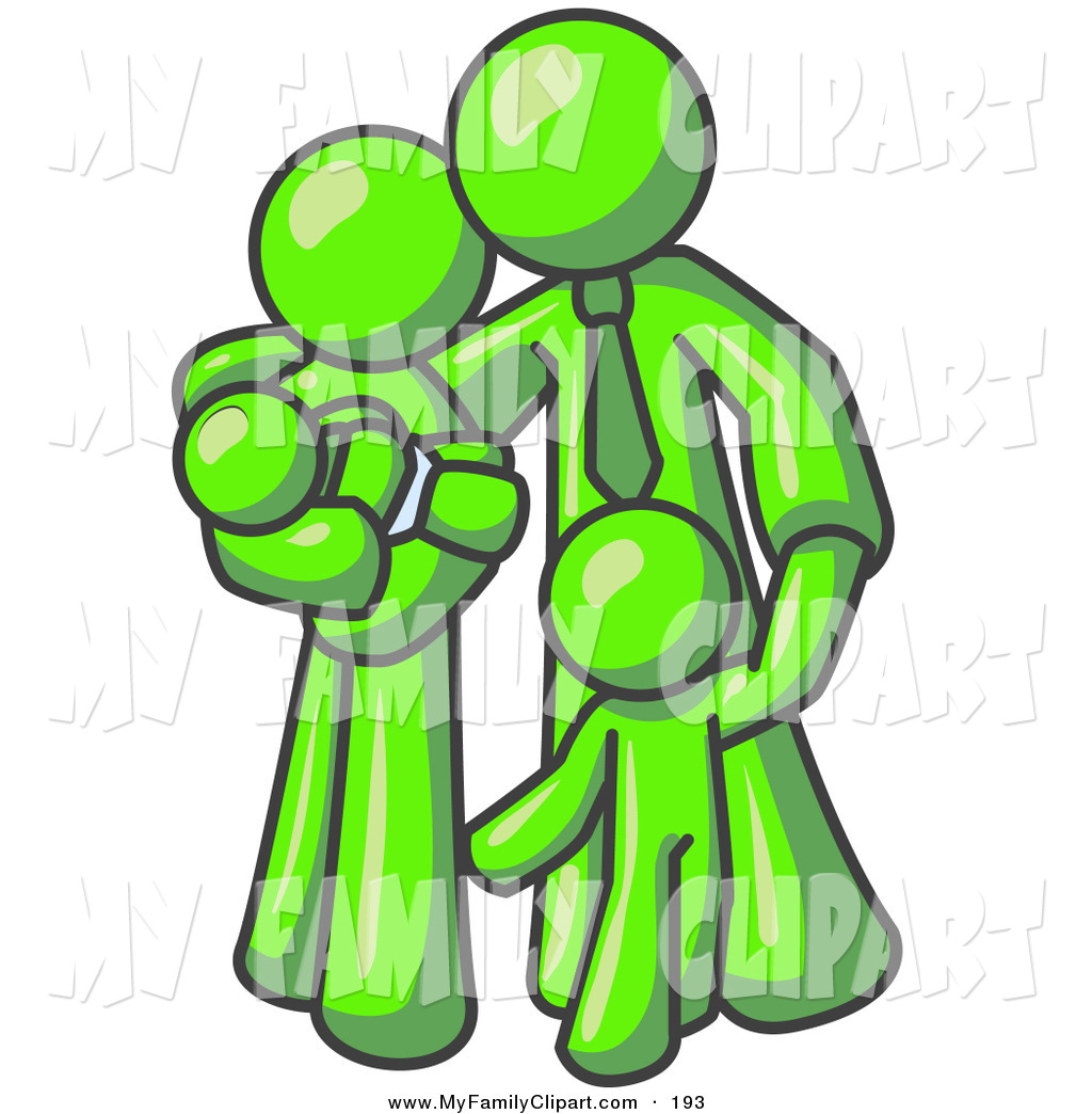 1024x1044 Clip Art Of A Happy Lime Green Family Man, A Father, Hugging His