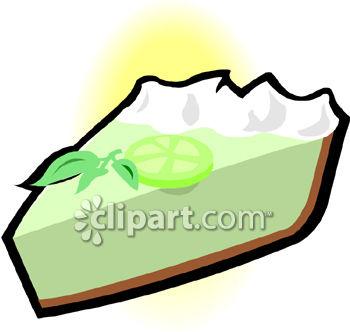 350x332 Large Slice Of Key Lime Pie