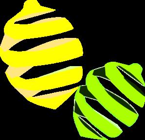 298x288 Lemon And Lime Clip Art
