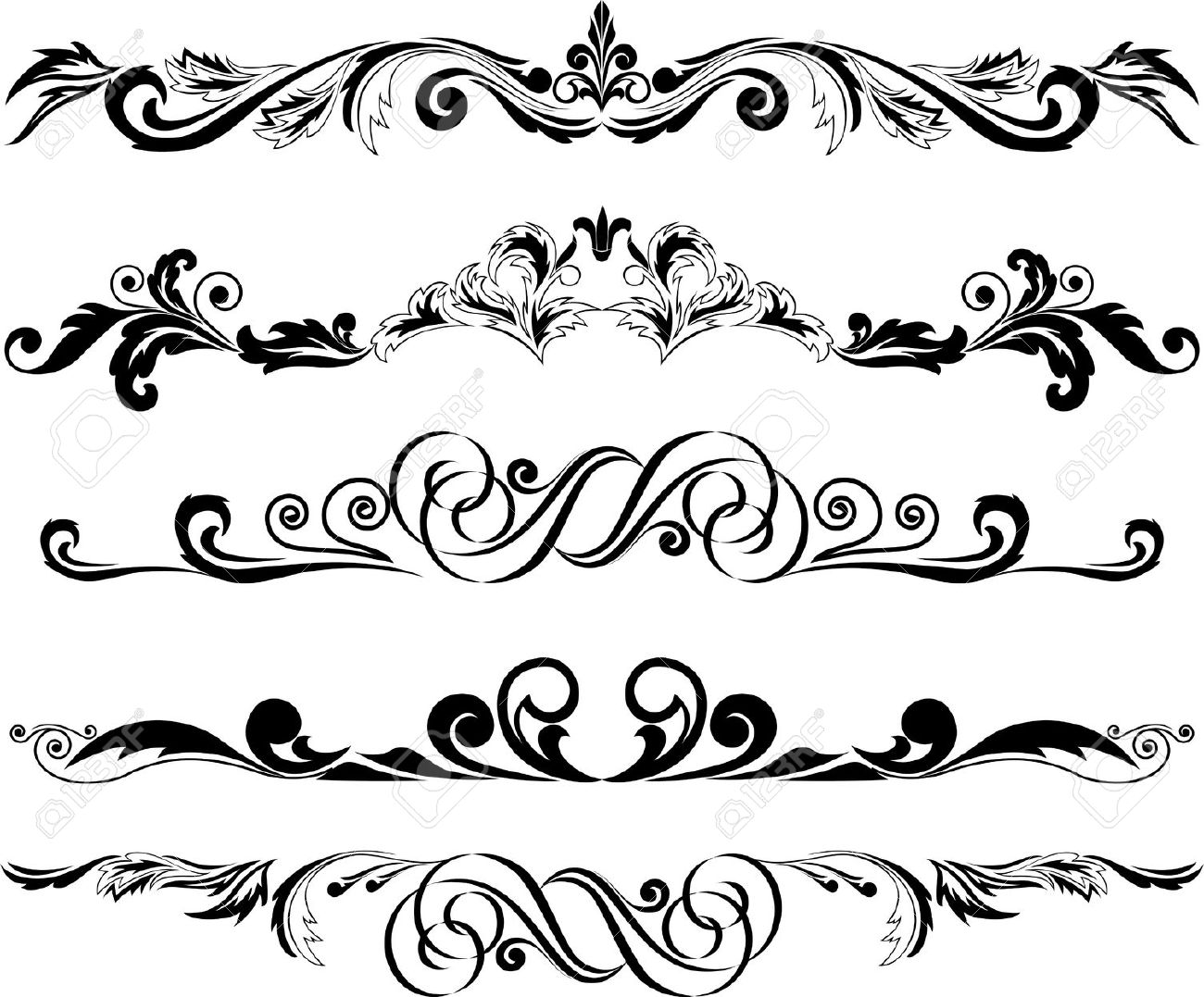 1300x1077 Ornamental Clipart Decorative Accent