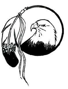 236x312 Native American Symbol Eagle Clipart