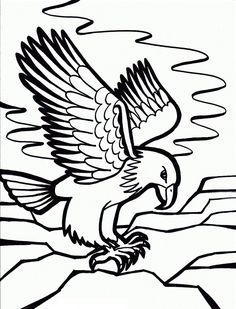 236x309 Printable Eagle Clipart Painting For Parents Art