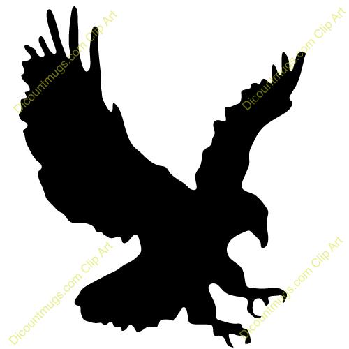 500x500 Bird Of Prey Clipart Line Art