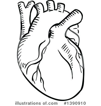 400x420 Clipart Heart Heart Black And White Heart Black And White Clip Art