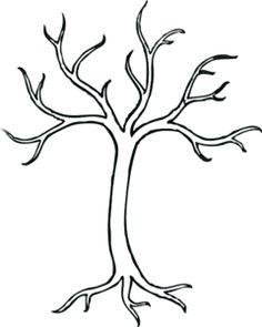 236x295 Leafless Tree Clip Art
