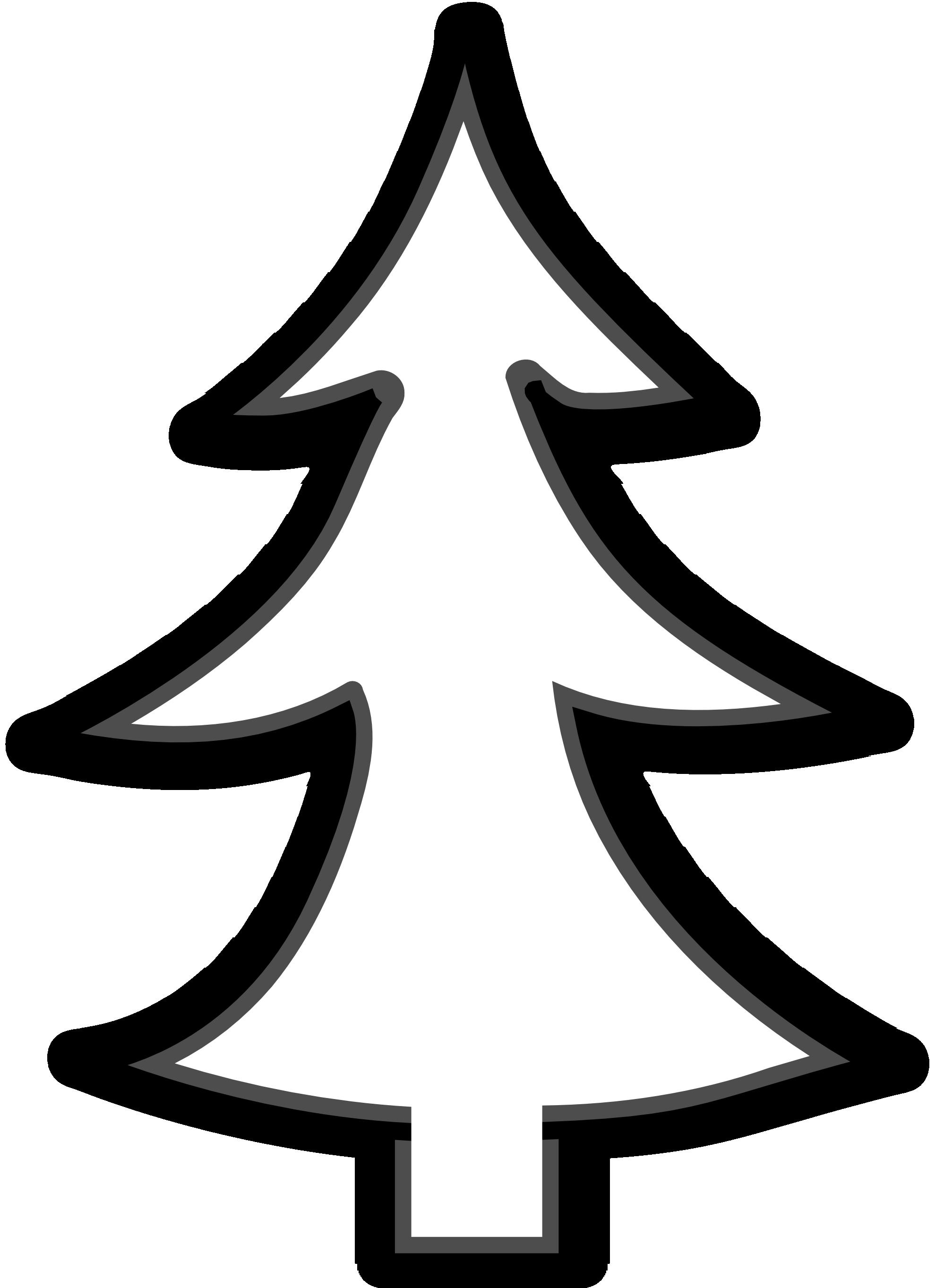 1979x2726 Line Art Tree