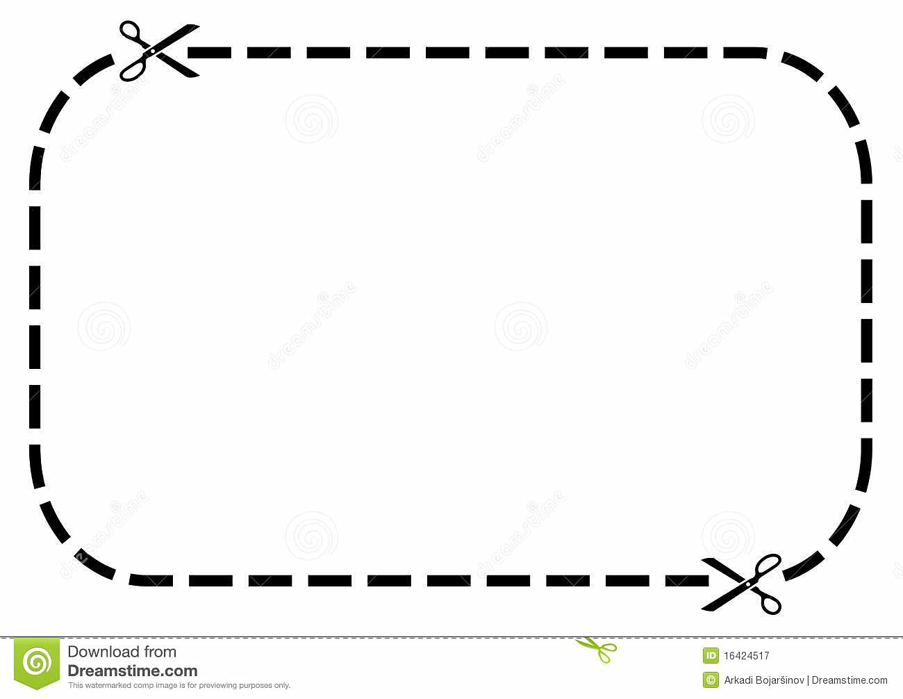 1300x1006 Blank Coupon Clipart Kid Dotted Line Border Clip Art Panda Free