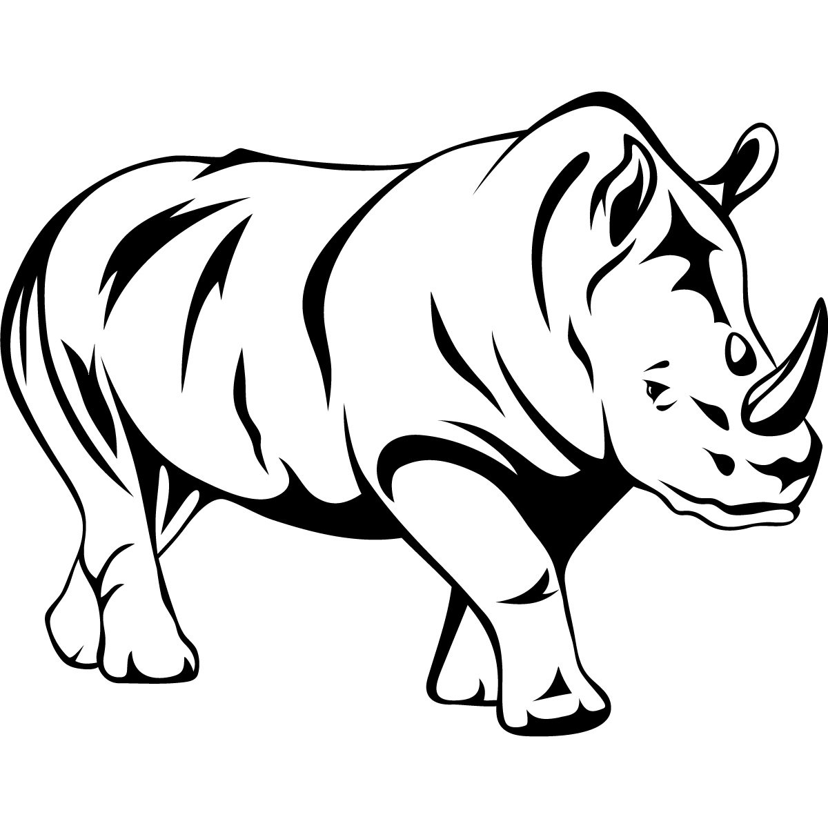 1200x1200 Out Line Drawing Of Animals Line Drawings Of Animals Free Vector