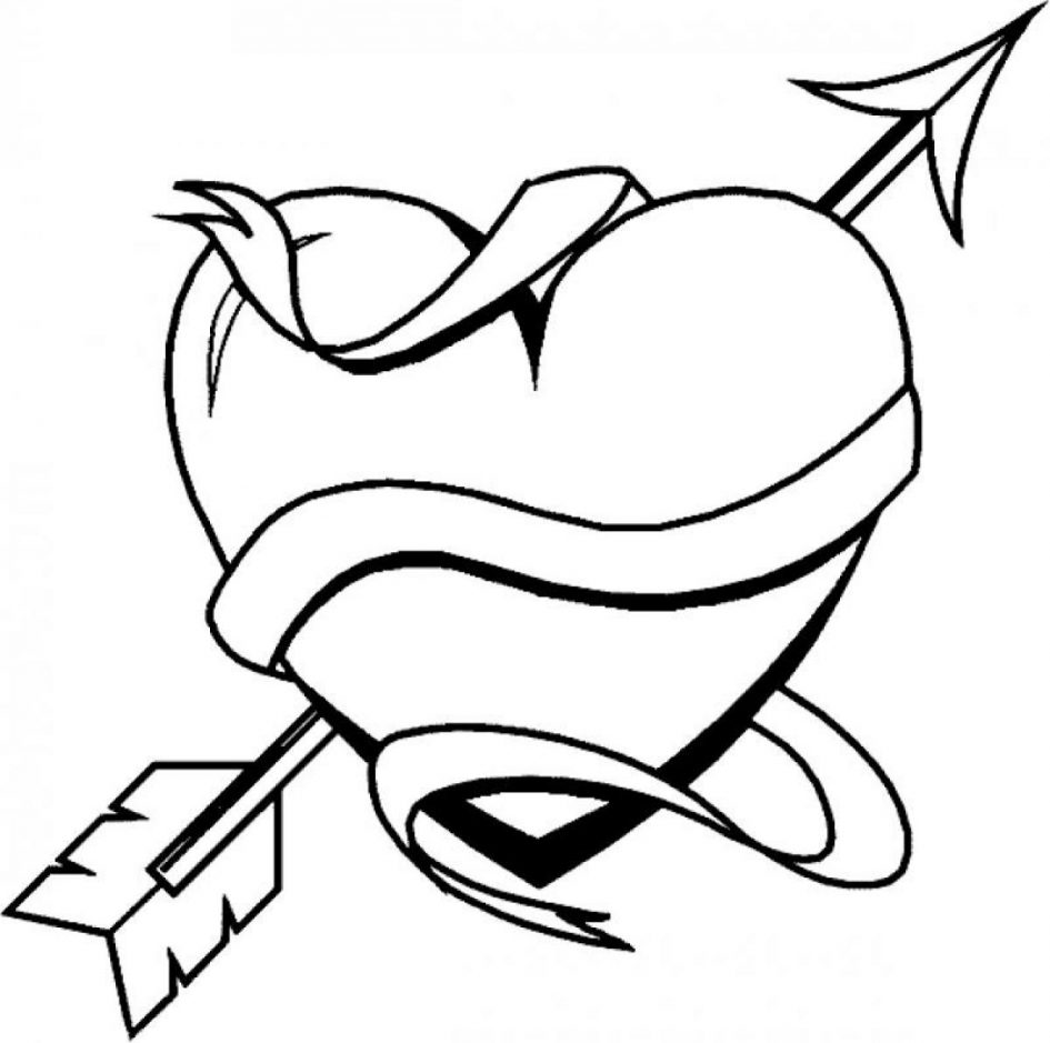 945x939 Download Coloring Pages. Heart Coloring Pages Heart Coloring