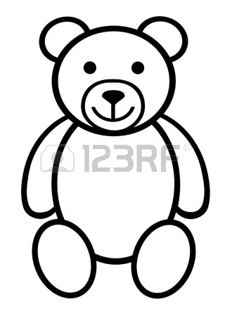 330x450 Teddy Bear Plush Toy Line Art Icon For Apps And Websites Royalty