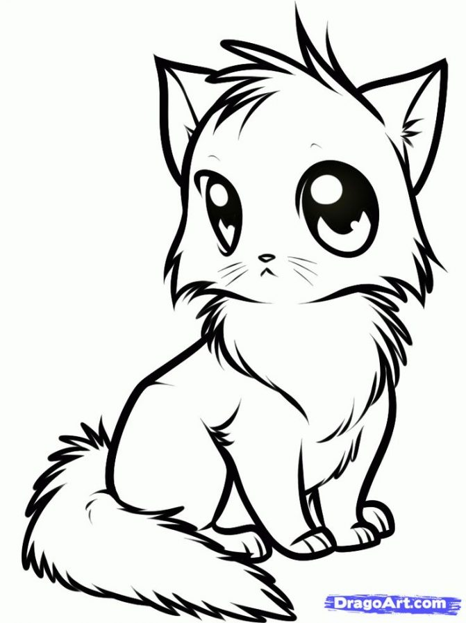 671x897 Coloring Pages Cute Drawings Animals Easy Animal Pencil Coloring