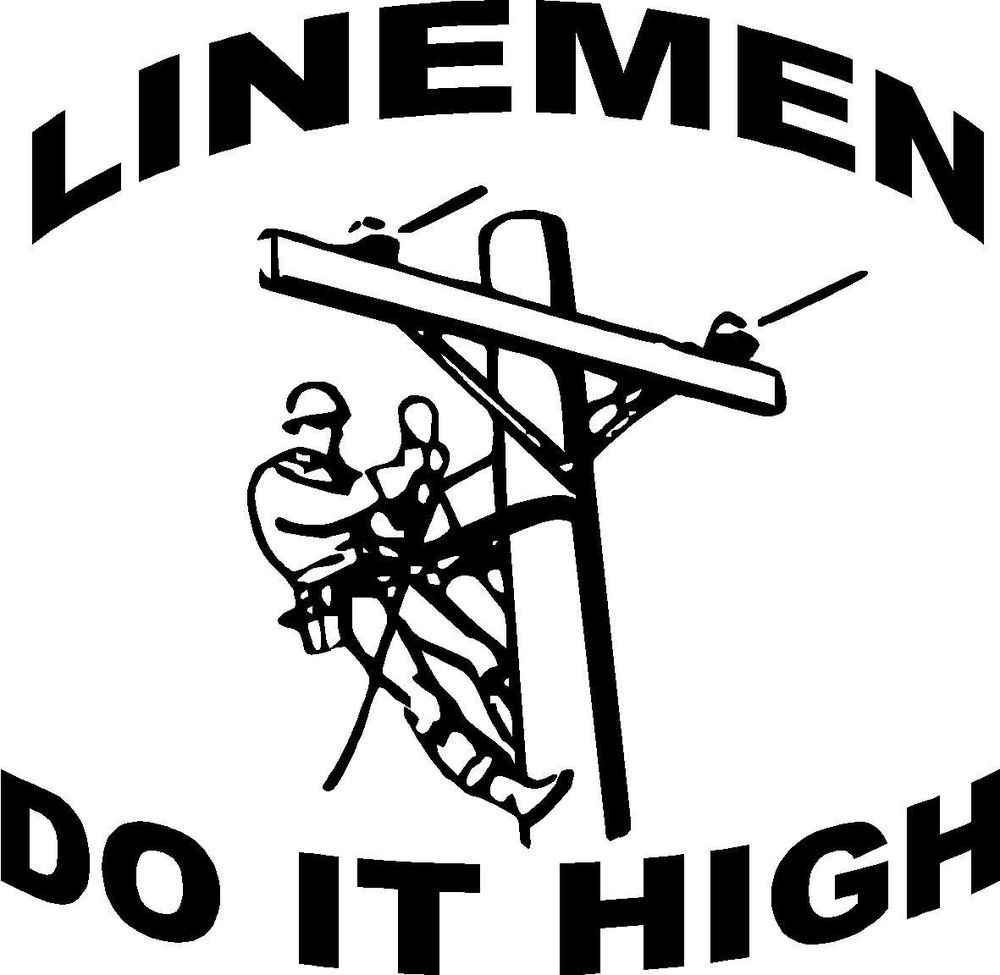 1000x975 Electrical Clipart Lineman