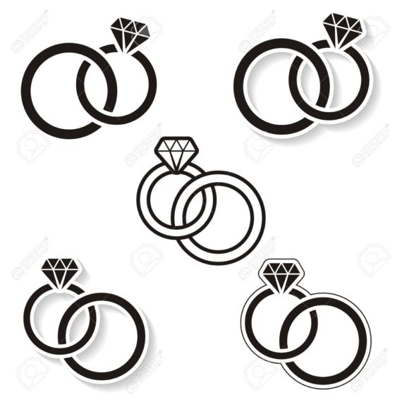 570x570 Ring Clipart Linked