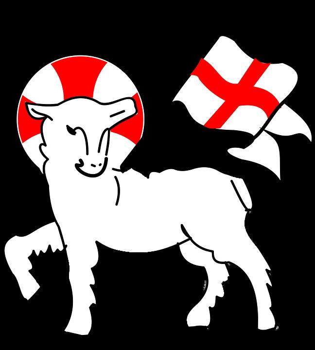 648x720 Lamb clipart religious
