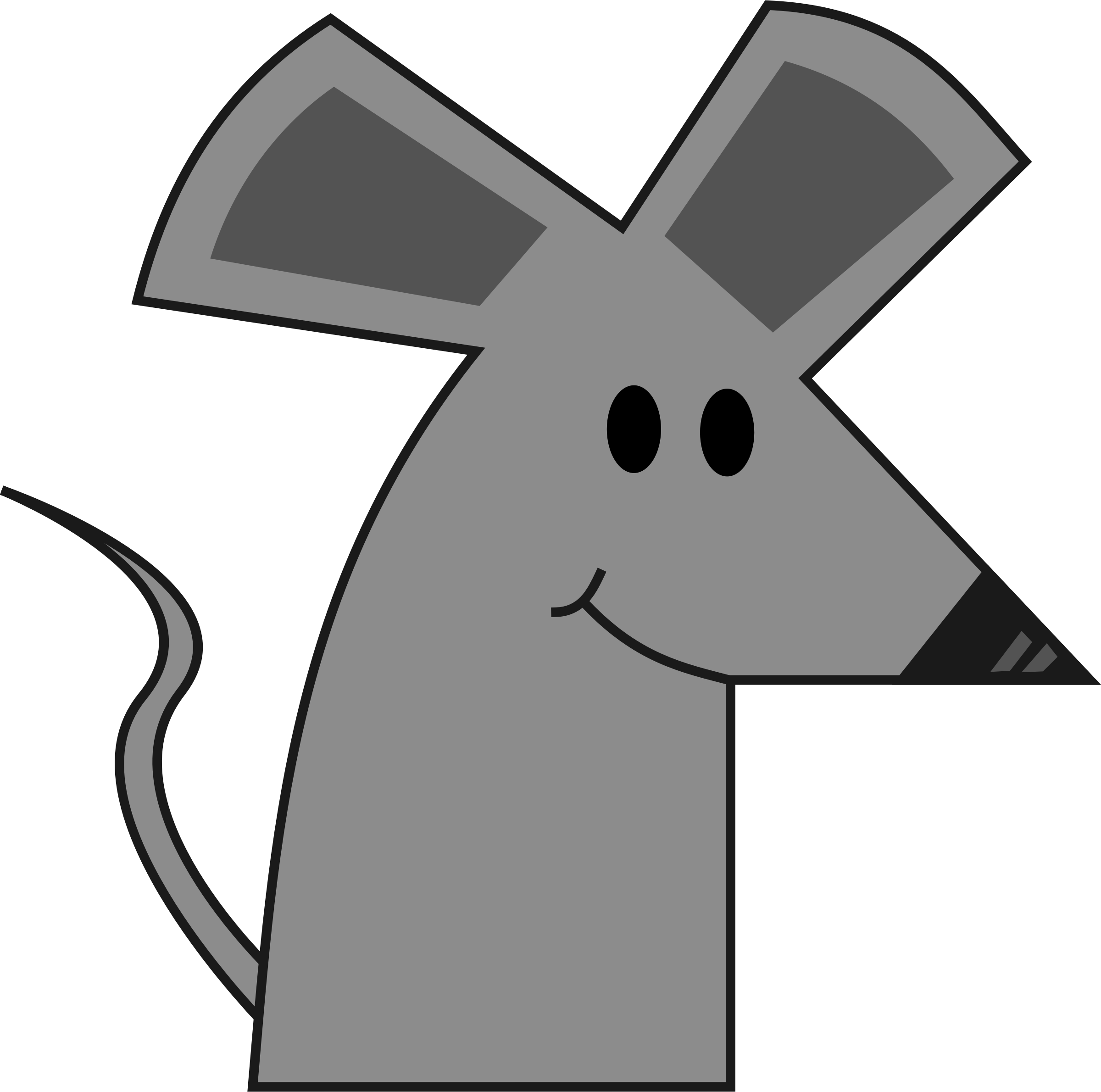 2400x2380 Rat Clipart Mouse Cartoon