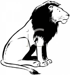 278x300 Lion Clip Art Black And White Cliparts