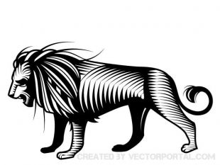310x233 Black Lion Vector Clip Art Free Vectors Ui Download