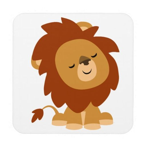 512x512 Cute Cartoon Lion Collection (20+)