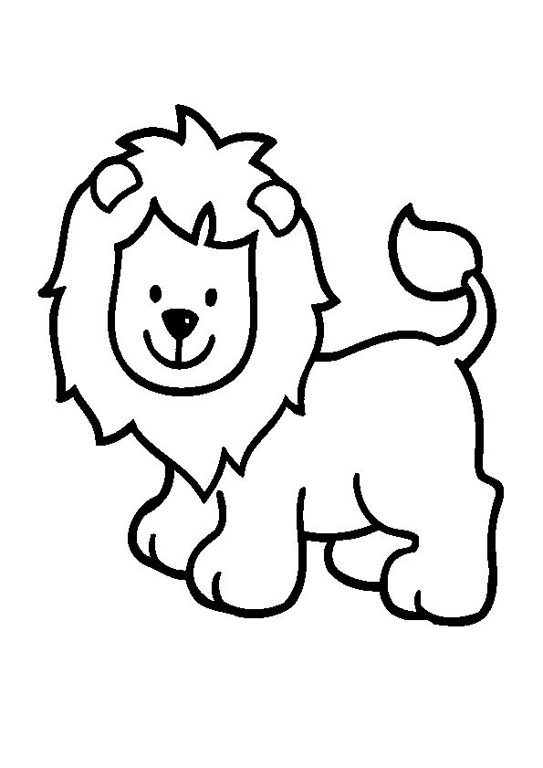 595x841 22 best Lion Coloring Pages images Drawing, Cartoon