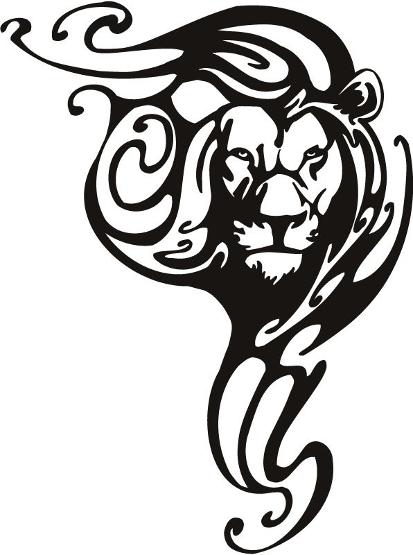 Lion Claw Tattoo Clipart