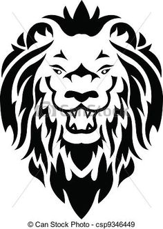 236x332 Agressive cheeky roaring lion car bonnet decal vinyl sticker