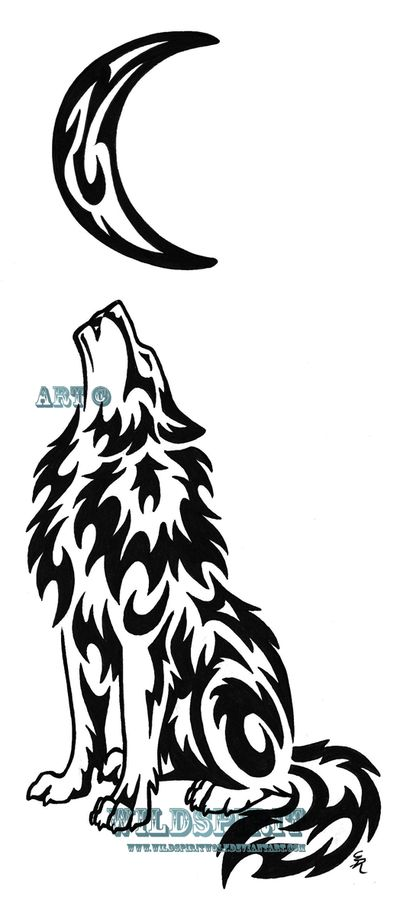 400x909 Best Tribal Wolf Ideas Tribal Wolf Tattoos