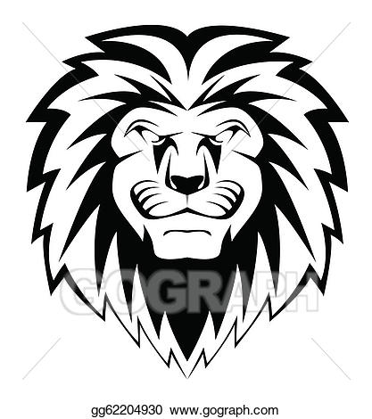 417x470 Lion Face Tattoo Clip Art